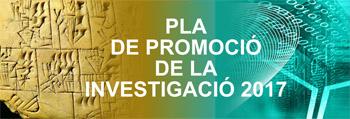 Pla de Promoció de la Investigació 2017