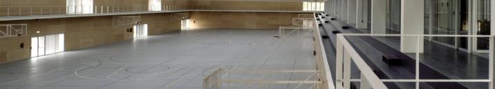 Imatge del pavelló poliesportiu de l'UJI