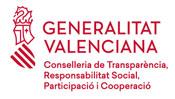 Logo conselleria de transparència, responsabilitat social, participació i cooperació