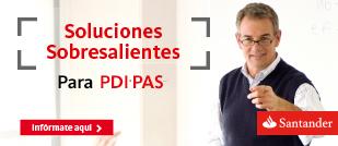 Condicions exclusives del Banc Santander per a PAS i PDI