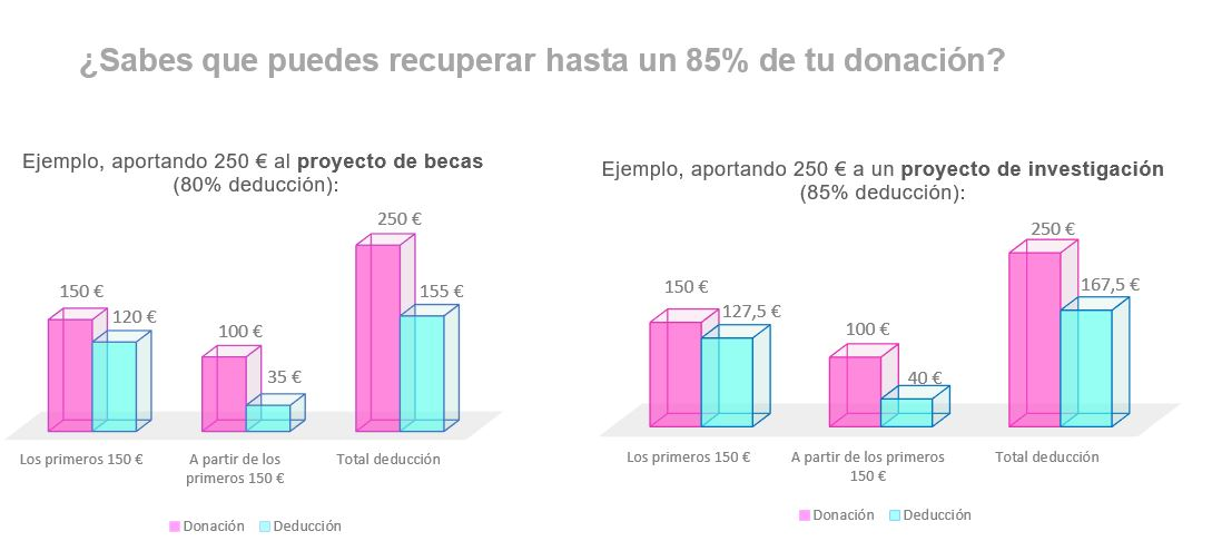 Gráfico deducciones fiscales