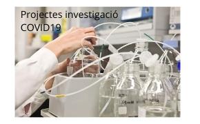 Projectes investigació COVID 19