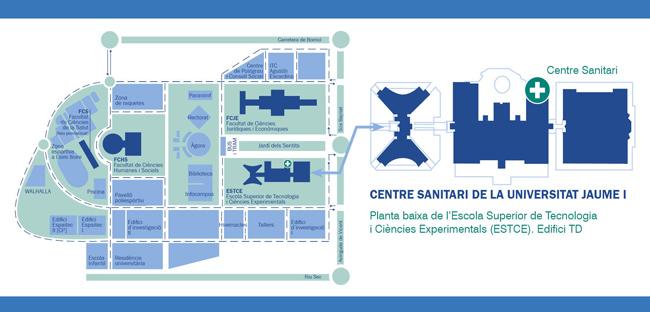 Localització Centre Sanitari