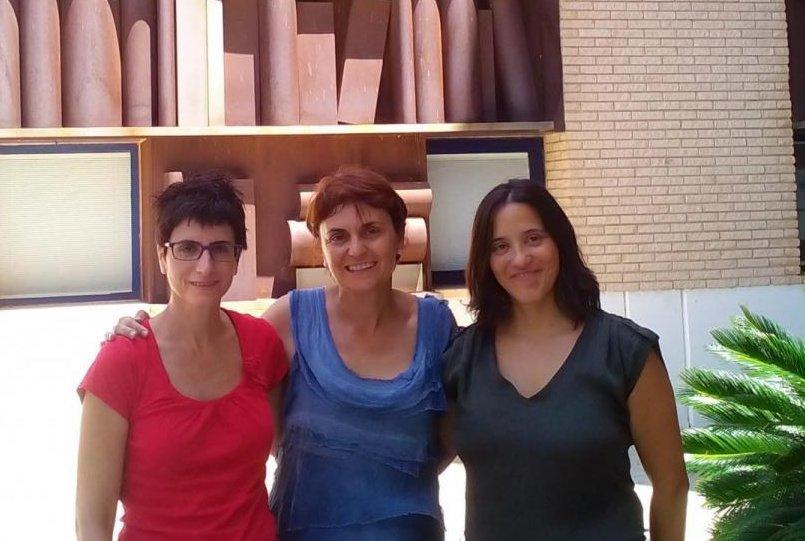 Noemí, Olga i Cristina,